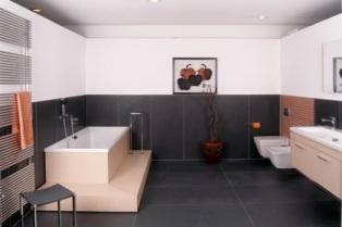 Badezimmer schöner wohnen  bad. schöner wohnen badezimmer fliesen mit marmorfliesen. die ...